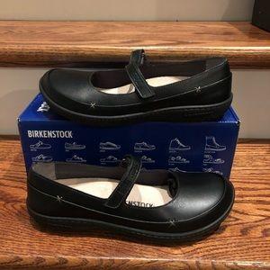 Birkenstock Iona black leather 9 medium new